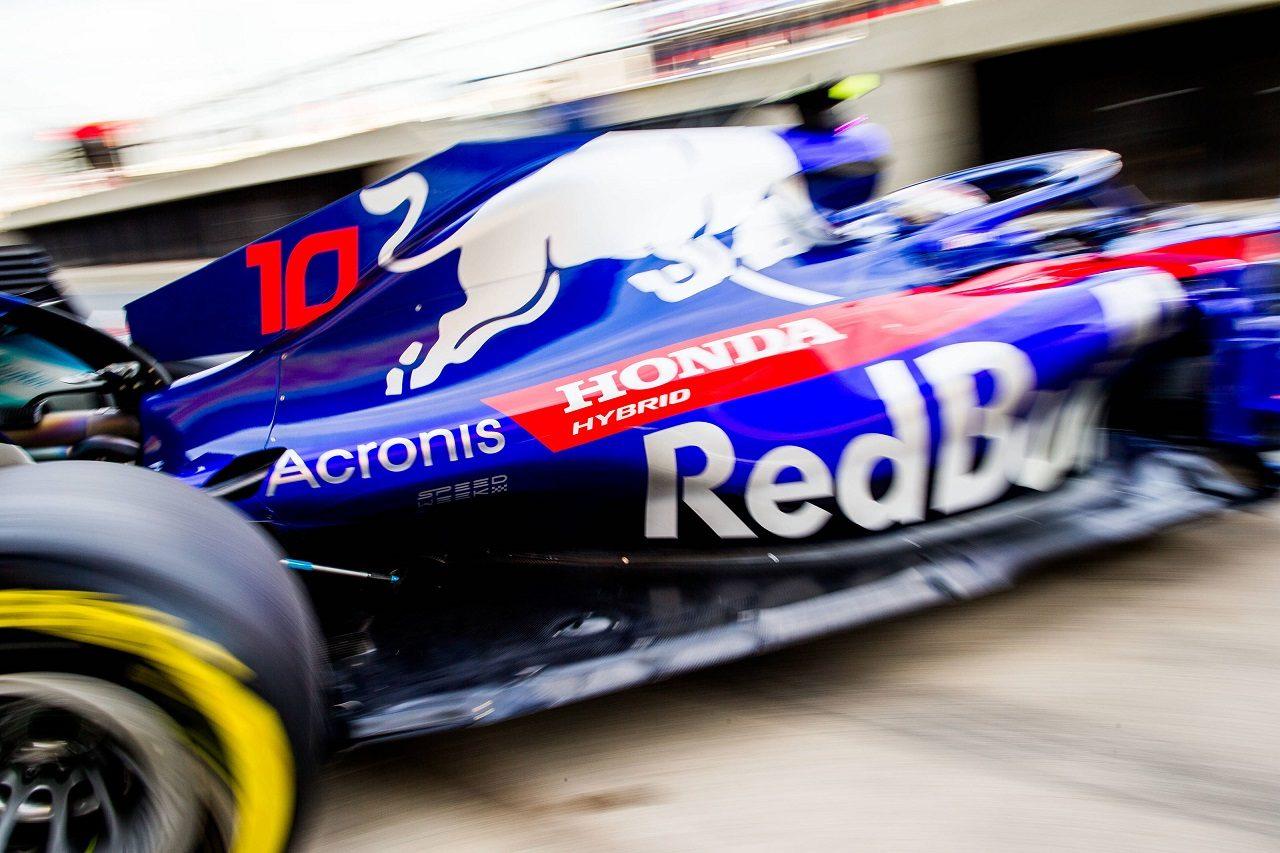 2018年F1第10戦イギリスGP ピエール・ガスリー(トロロッソ・ホンダ)