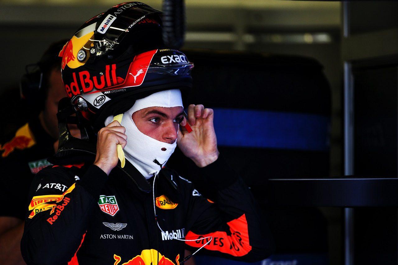 2018年F1第10戦イギリスGP マックス・フェルスタッペン(レッドブル)