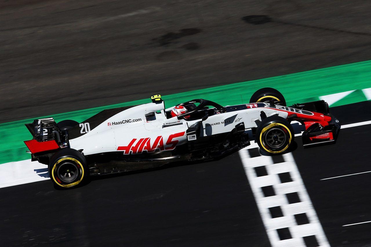 2018年F1第10戦イギリスGP ケビン・マグヌッセン(ハース)