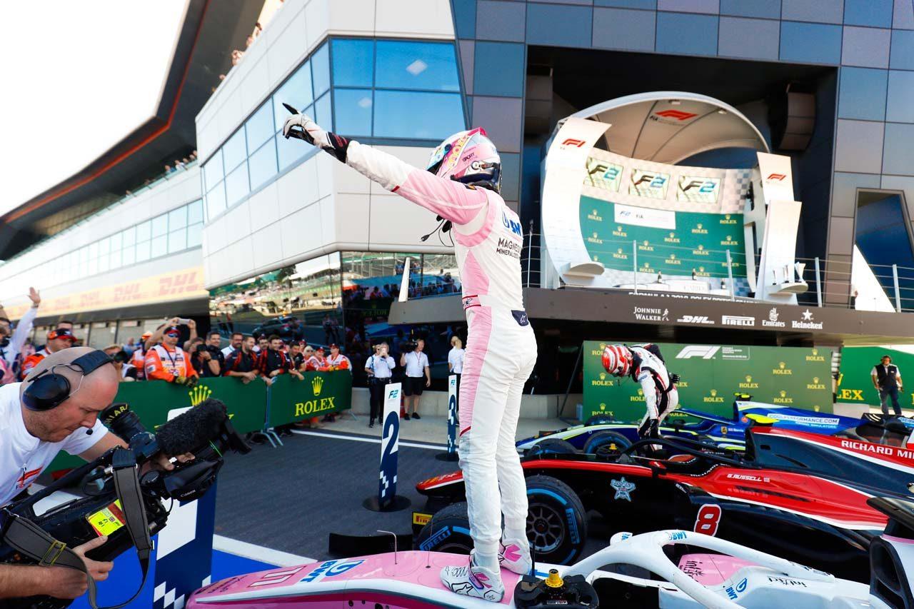 FIA F2第7戦イギリス レース2:ギュンターがF2初優勝。牧野は12位、福住は出走できず