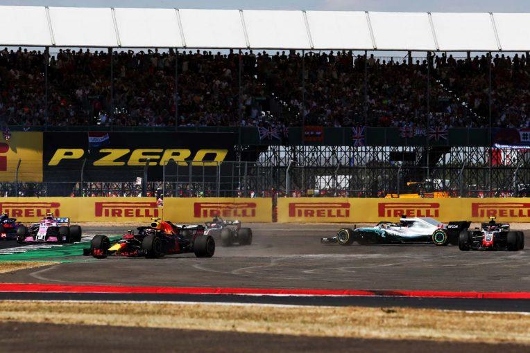 F1 | 【動画】オープニングラップにハミルトンとライコネンが接触/F1イギリスGP 決勝
