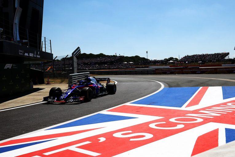 F1 | ホンダ田辺TD「ハートレーは、パワーユニット組み付け作業時の不具合によりリタイア」:F1イギリスGP日曜
