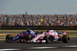 F1   ガスリー、接触により10位から降格「ばかげたペナルティ。自由にレースさせてくれ」:トロロッソ・ホンダ F1イギリスGP日曜