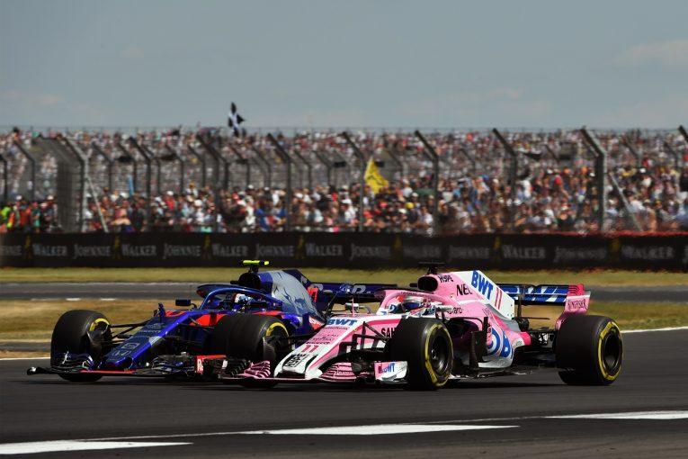 F1 | ガスリー、接触により10位から降格「ばかげたペナルティ。自由にレースさせてくれ」:トロロッソ・ホンダ F1イギリスGP日曜