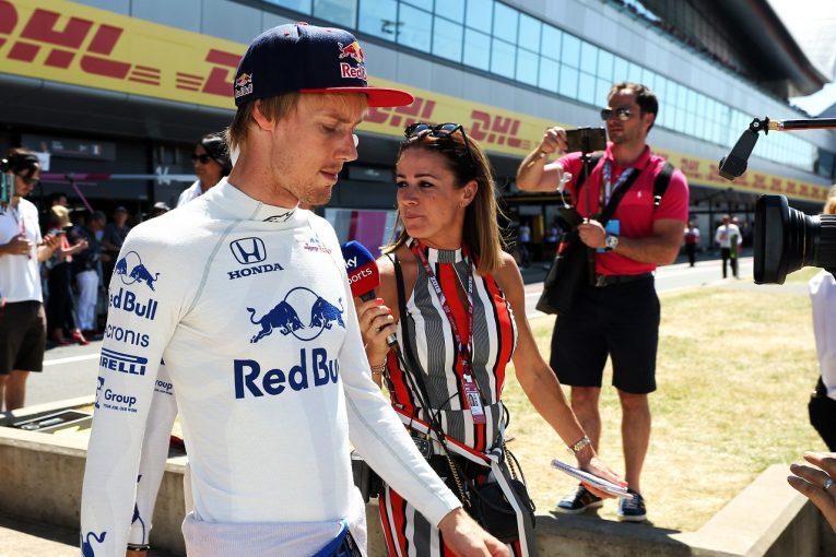 F1 | マシン大破でPU交換のハートレーにまたトラブル「スタートする前から不具合。2日間ほとんど走れず」トロロッソ・ホンダ F1イギリスGP日曜