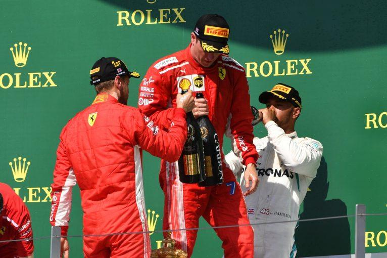 F1 | ライコネン「ハミルトンに接触したのは僕のミス。ペナルティを受けても仕方ない」:F1イギリスGP日曜