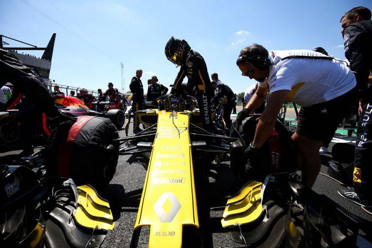 F1   ヒュルケンベルグが6位で中団トップ「スタートとタイヤマネジメントがうまくいった」:F1イギリスGP日曜