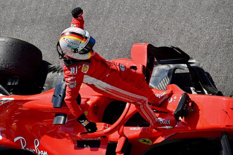 F1 | 完全アウェーの熱気をはね返した、ベッテル抜群のスタートダッシュ【今宮純のF1イギリスGP決勝分析】