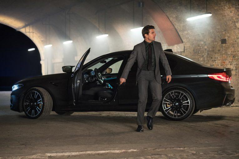 クルマ   シリーズ最新作『ミッション:インポッシブル/フォールアウト』とコラボしたBMW M5限定車登場