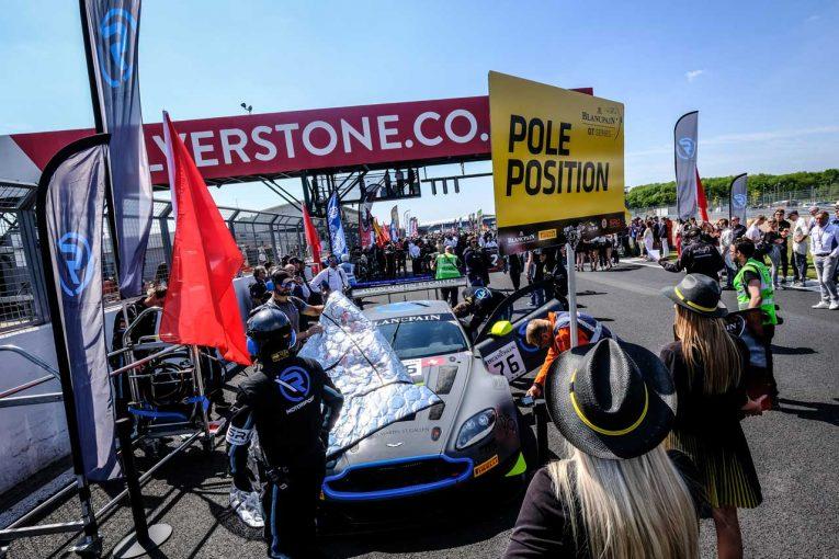 ポールポジションから第4戦シルバーストンの決勝に臨んだ76号車アストンマーチン