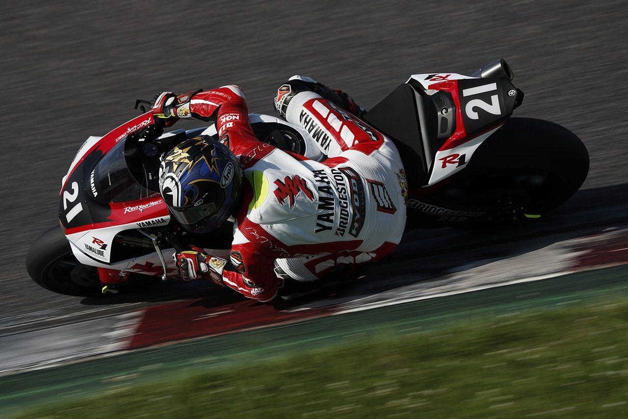 鈴鹿8耐公開合同テスト初日で総合トップのタイムを記録した中須賀克行