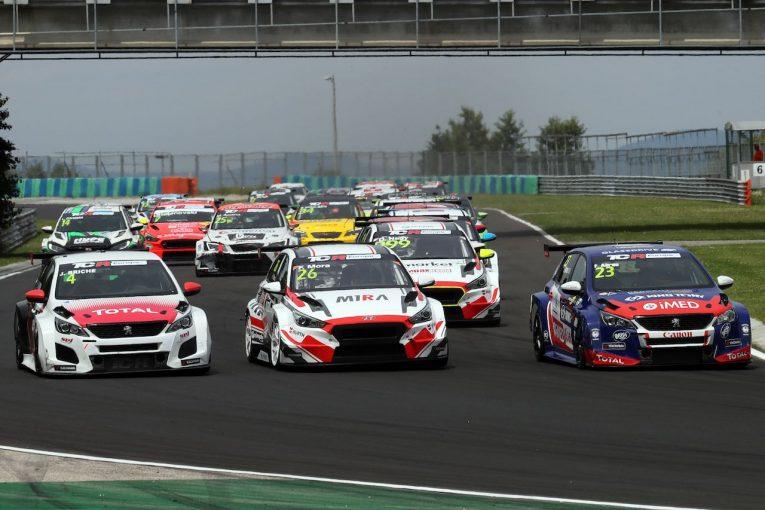 海外レース他 | TCR EU:第4戦ハンガリーはホームレースのM1RAがワン・ツー。ヒュンダイの連勝に貢献