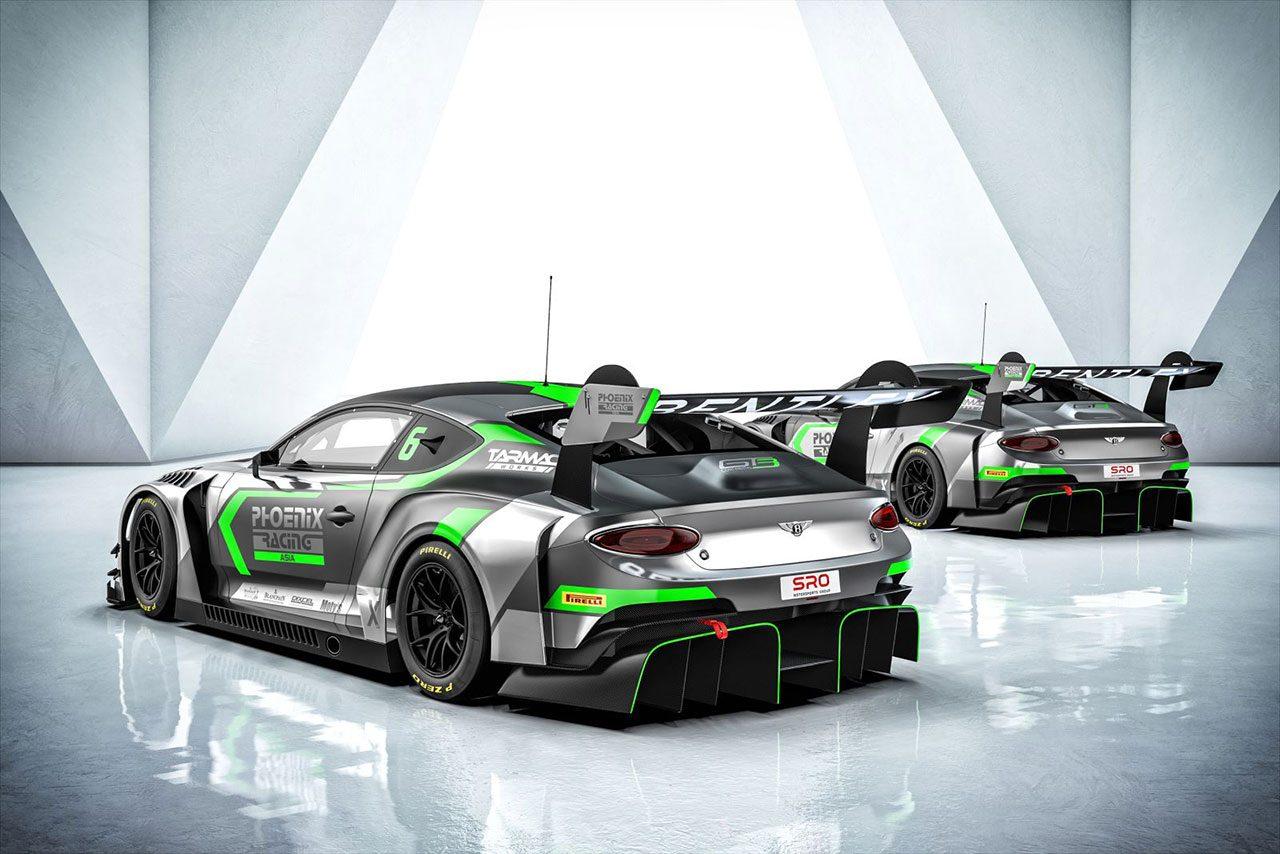 ブランパンGTアジアにベントレーの新型GT3が参戦へ。カスタマーチームからの参戦は世界初