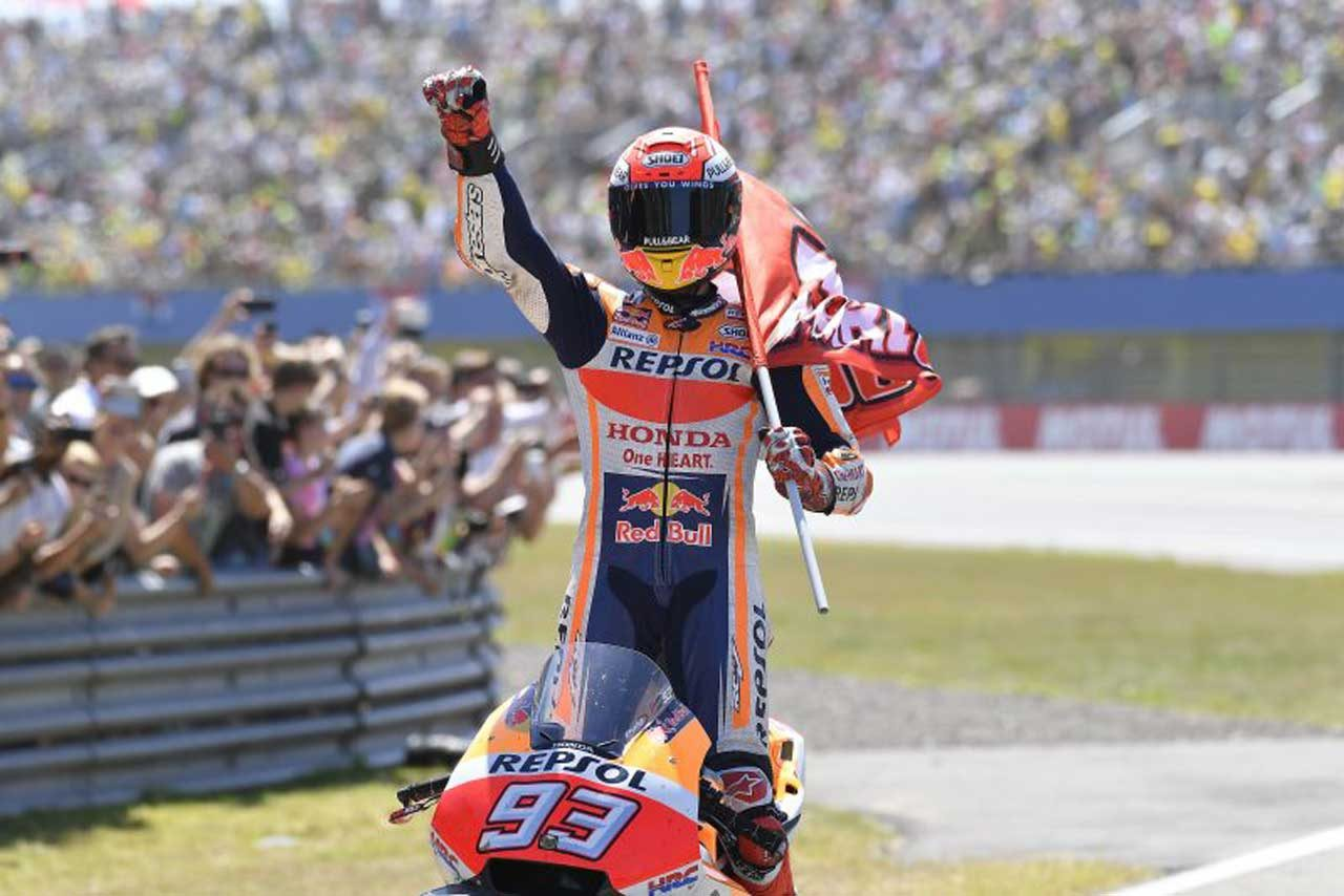 MotoGP:8年連続ポール・トゥ・ウインのマルケス、ドイツGPは「表彰台に向けてトライしたい」