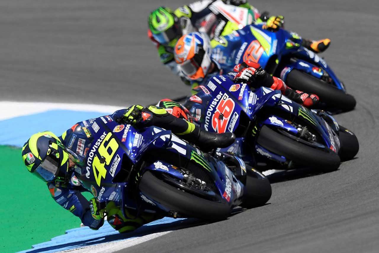 MotoGP:ロッシ、ザクセンリンクで「トップ争いに加わるつもりだ」