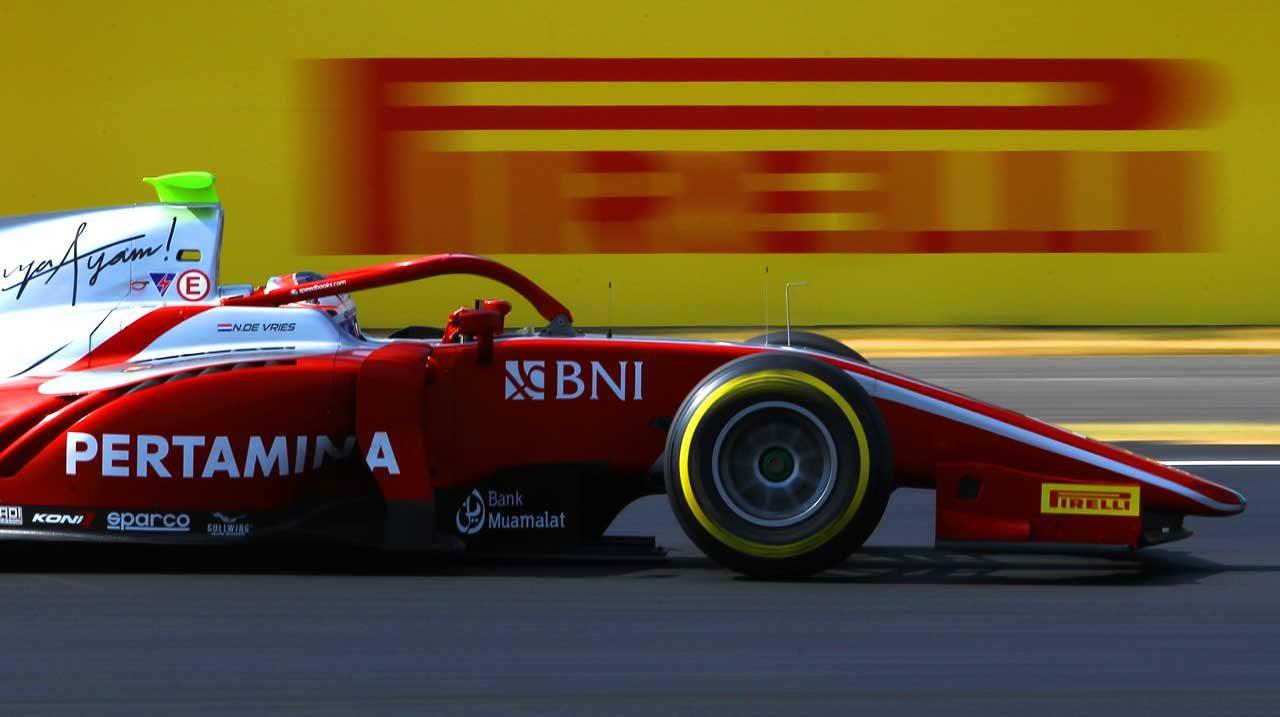 プルタミナ・プレマ・セオドール・レーシング FIA F2第7戦イギリス レースレポート