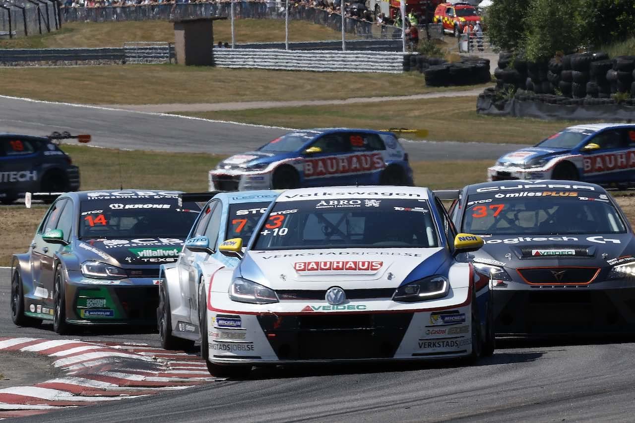 STCC:第3戦ファルケンベリでホンダが今季初優勝。TCR規定導入後の初勝利