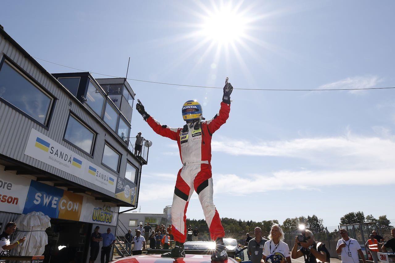 STCC:第3戦ファルケンベリ。ホンダ・レーシング・スウェーデンが今季初勝利