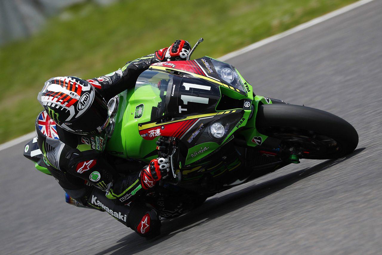 鈴鹿8耐公開合同テスト3日目の総合トップタイムを記録したジョナサン・レイ/Kawasaki Team GREEN
