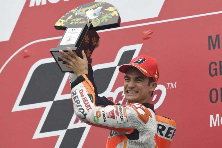 2015年MotoGP日本GPで優勝したダニ・ペドロサ