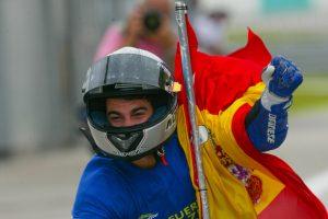 2003年チャンピオンを獲得したダニ・ペドロサ