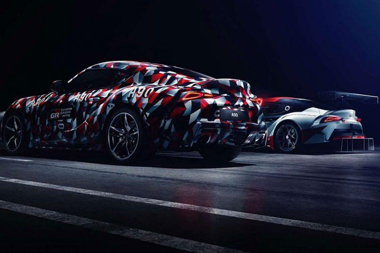グッドウッド・フェスティバル・オブ・スピードに『The Toyota A90』として登場した新型スープラ