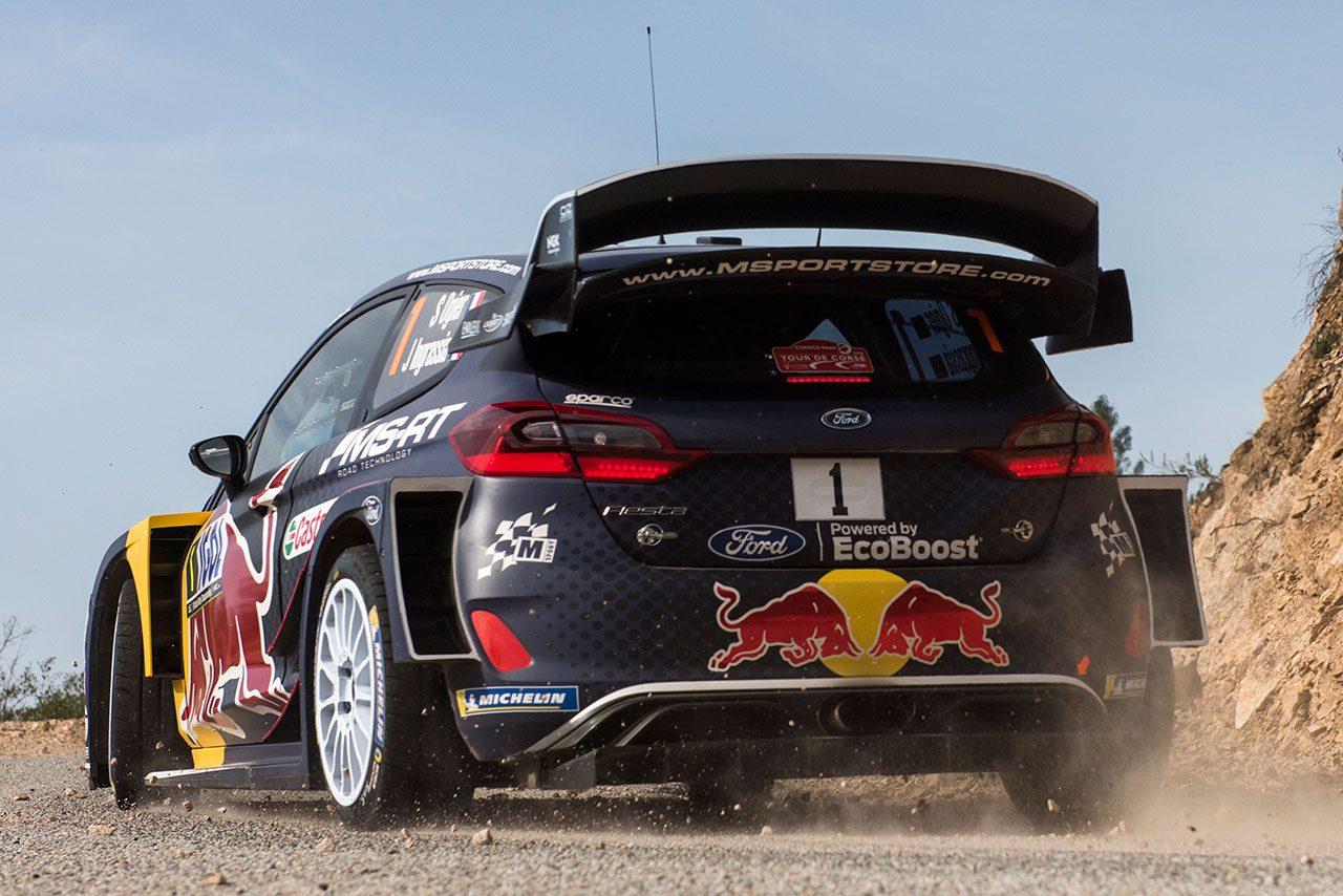 WRC:Mスポーツ・フォード、タイトル防衛へリヤウイング改良。フィンランド戦での投入目指す