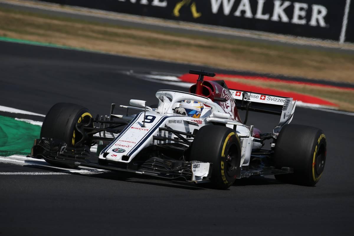 2018年F1イギリスGP ザウバー マーカス・エリクソン