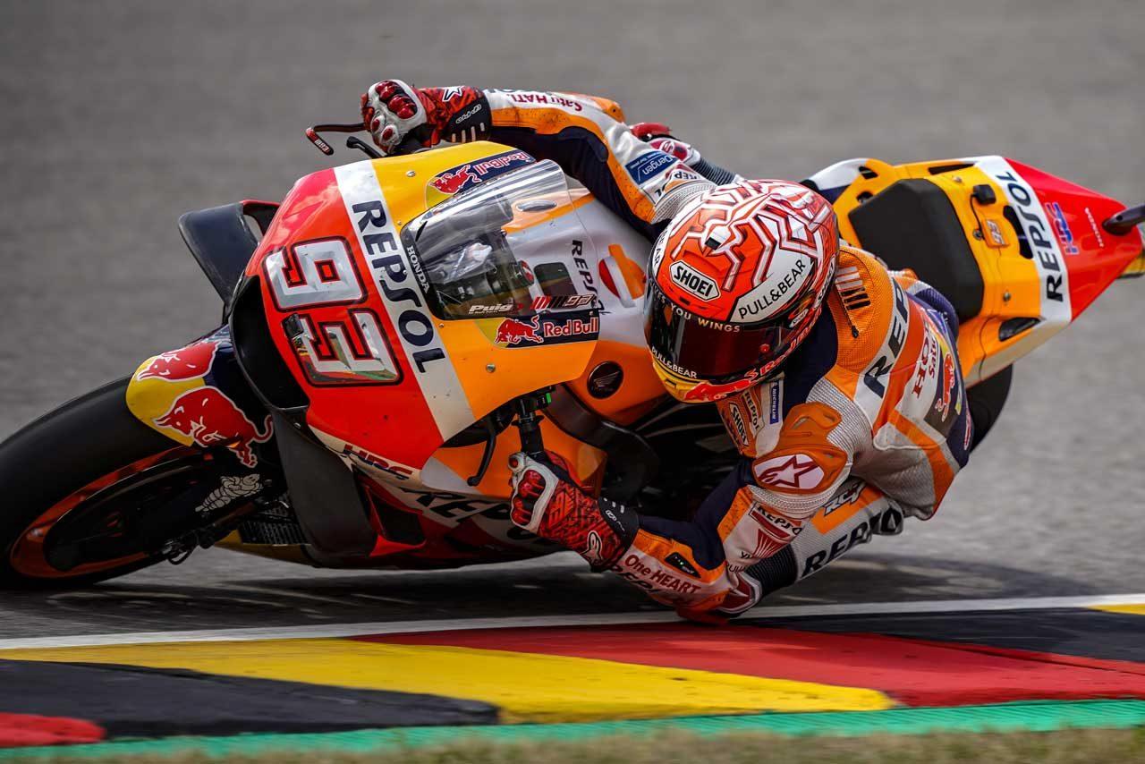 MotoGPドイツGP予選:マルケスが自身のレコードを更新し9年連続PP。中上はQ2進出で12番手