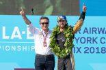 フォーミュラE第4シーズンのチャンピオンに輝いたジャン-エリック・ベルニュ(テチーター)