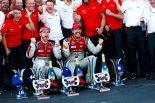 わずか2ポイント差で逆転チャンピオンに輝いたアウディスポーツ・アプト・シェフラー