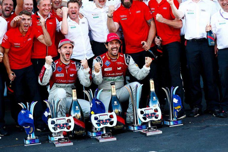 海外レース他 | フォーミュラE:アウディが2点差で新チーム王者に。シリーズ最終戦は新王者ベルニュが制す