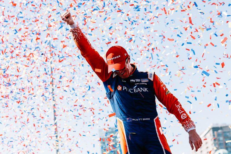 海外レース他 | インディカー第12戦トロント:ミスのない走りでディクソンが王者へ邁進。琢磨は悔しい結果に