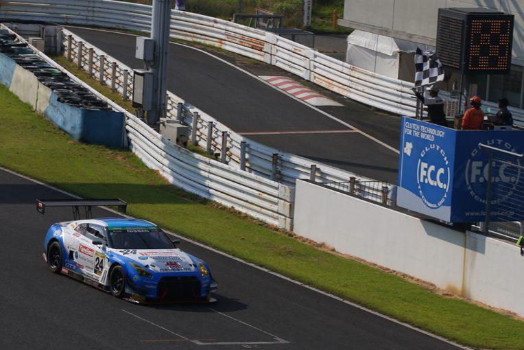 国内レース他 | スーパー耐久第4戦AP:24号車スリーボンド日産自動車大学校GT-Rが完勝