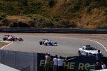 レース3は2度のセーフティカーランの後、赤旗終了となった