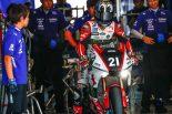 「鈴鹿8耐4連覇に向けて手ごたえを感じているところ」と語る中須賀克行