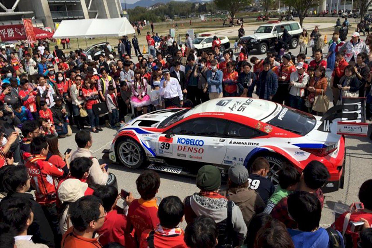 LEXUS TEAM SARD×名古屋グランパスの『モータースポーツフェスタ』は7月22日広島戦で開催