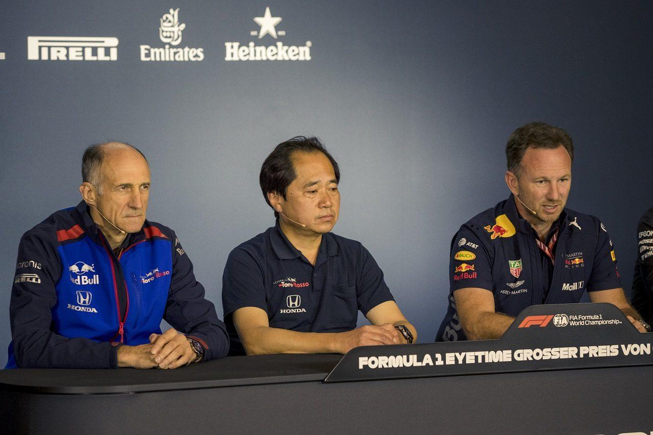トロロッソ代表トスト、ホンダF1田辺豊治テクニカルディレクター、レッドブル代表ホーナー