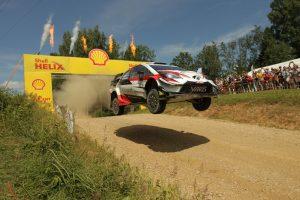 オット・タナクはトヨタ・ヤリスWRCでラリー・エストニアに出走。総合優勝を飾った