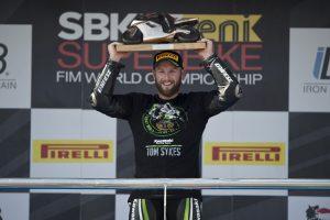 2013年にチャンピオンを獲得したトム・サイクス