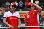 F1 | フェラーリからザウバー移籍のライコネン「古巣に戻るのは最高の気分」とコメント。ルクレールは亡き父とビアンキに感謝