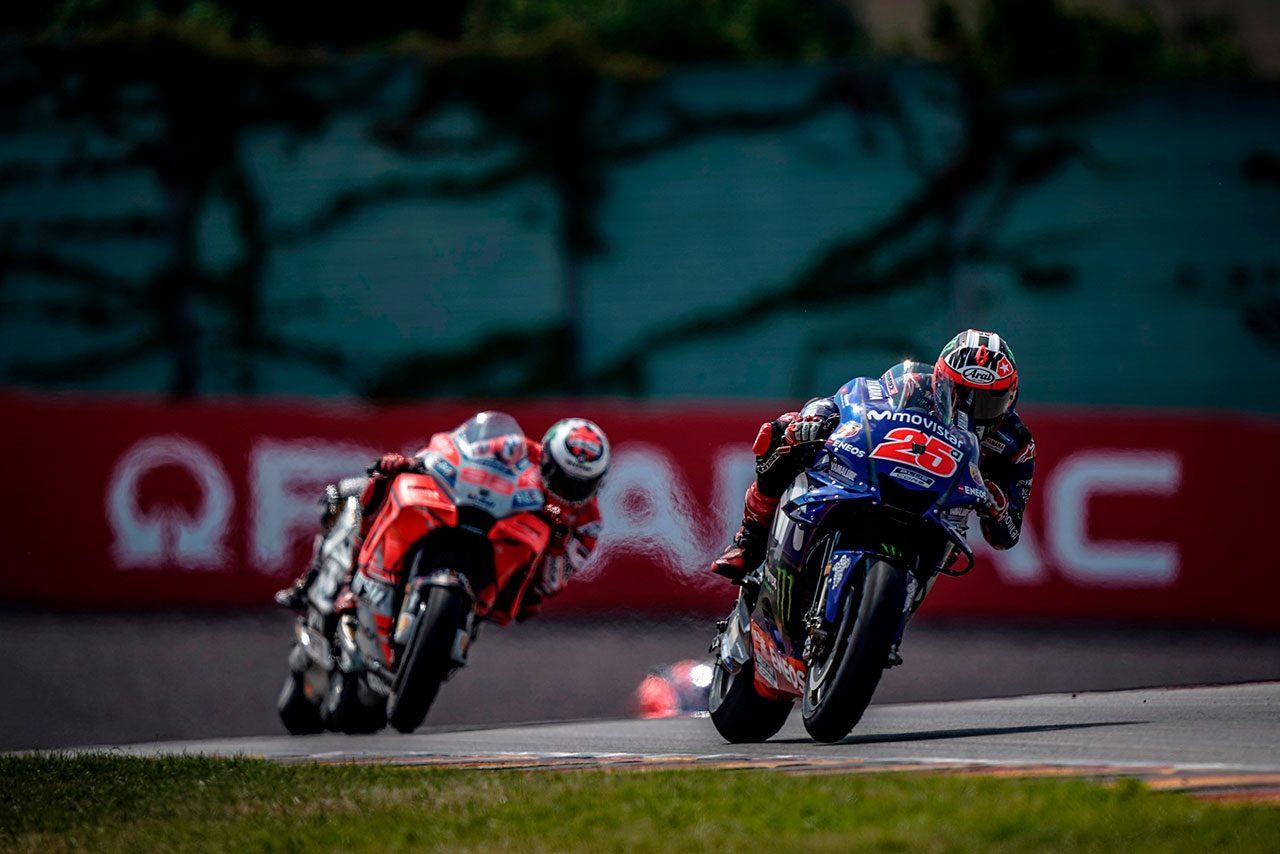 MotoGPドイツGP:ヤマハのビニャーレスが2戦連続で上った表彰台。「レースペースは期待どおり」