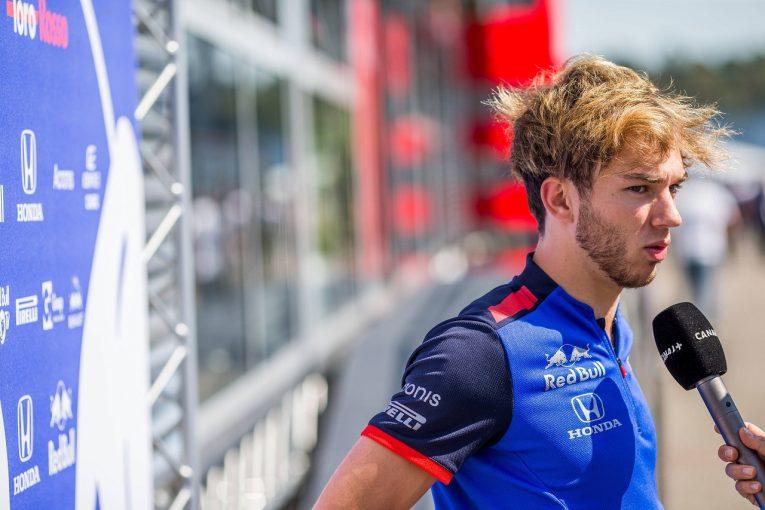 F1 | 【独占インタビュー】ガスリーの美学「直線で抜いてもつまらない。コーナーでバトルするから、みんながエキサイトする」