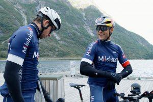人生初のトライアスロン挑戦に向けてトレーニングを積むアンドレアス・ミケルセン