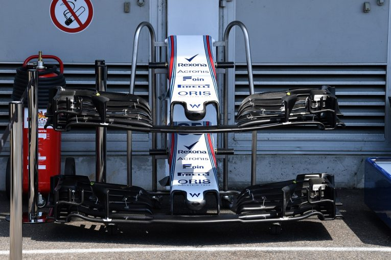 F1   アップデートで失敗したウイリアムズF1、ドイツに新フロントウイングを導入