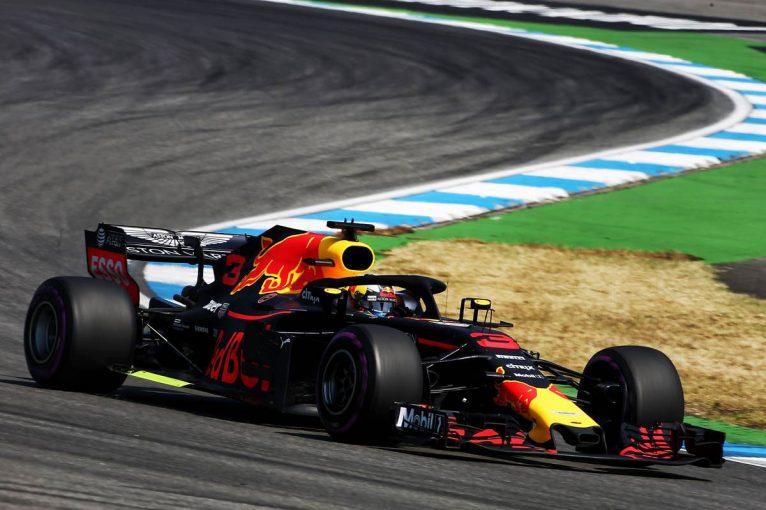 F1   F1ドイツGP FP1:リカルドがトップタイム、トロロッソ・ホンダは15、18番手