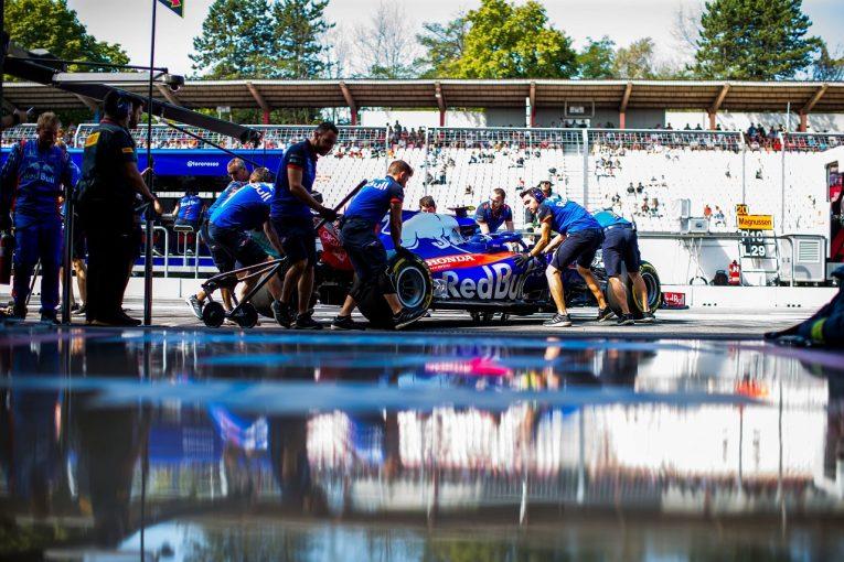 F1   ホンダ田辺TD「トラブルフリーでプログラムを消化。土日の天候の変化を考慮してセッティングを進めていく」:F1ドイツGP金曜