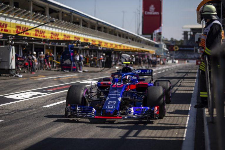 F1 | トロロッソ「シャシーとPUのパフォーマンス向上を狙い、アップデートを導入。期待どおりの効果を確認した」:F1ドイツGP金曜