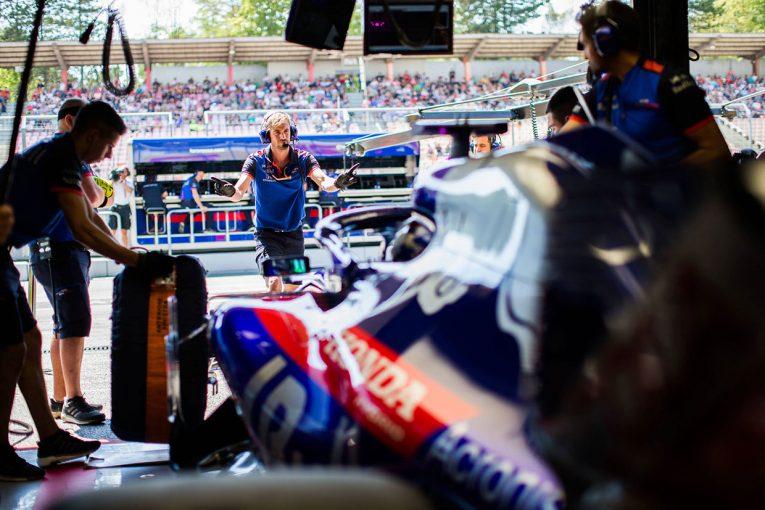 F1   トロロッソ・ホンダF1密着:僅差の中団争い、予選は路面コンディションへの対応が鍵