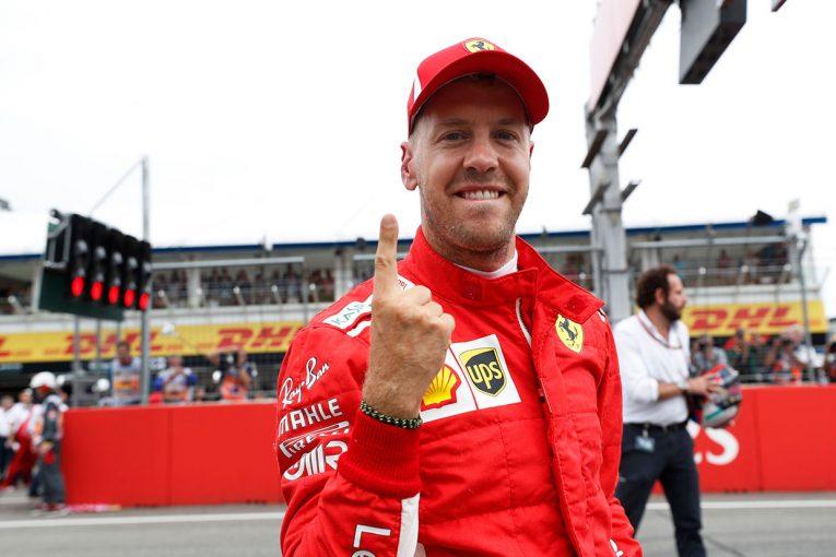 F1 | F1ドイツGP予選:母国GPでベッテルがポールポジションを獲得、ハミルトンにトラブル発生